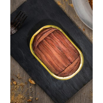 "Anchoas del Cantábrico en aceite de oliva, 12 filetes, tamaño ""0"""