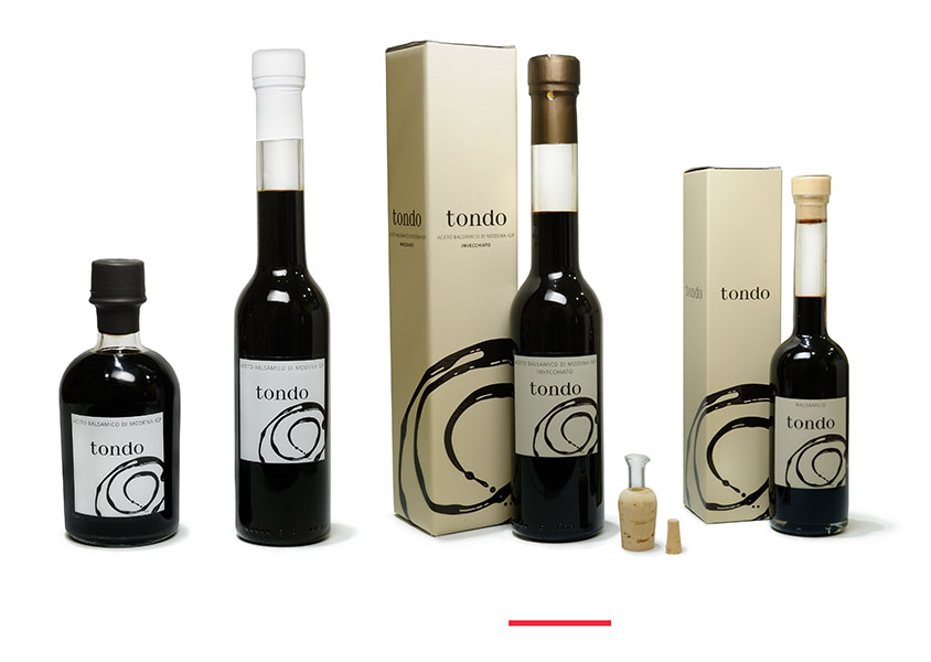 Vinagre Balsámico de Módena GRAN RESERVA tondo