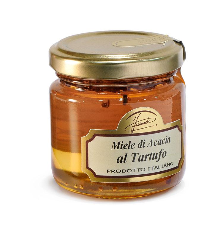 Acacia honey with truffles