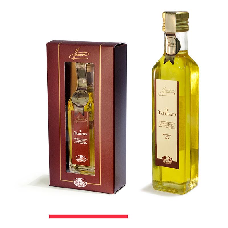 Aceite de oliva aromatizado a la trufa blanca