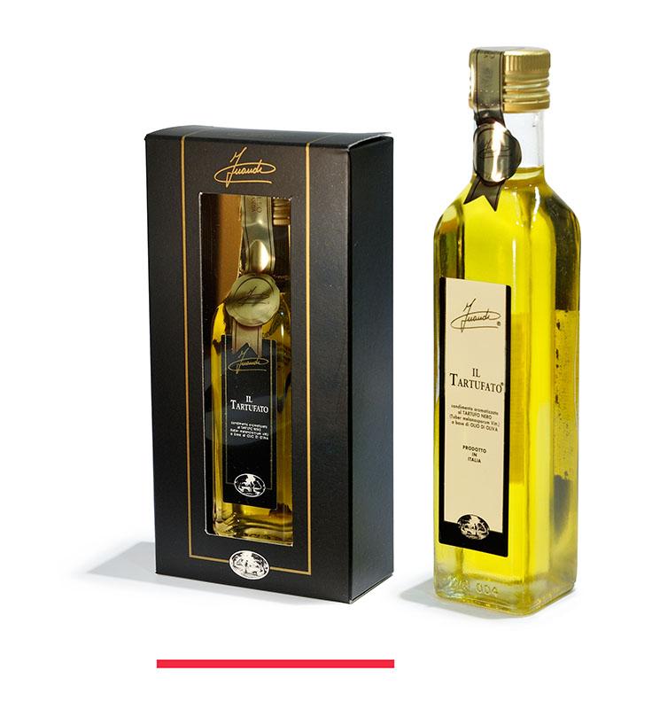 Aceite de oliva aromatizado a la trufa negra