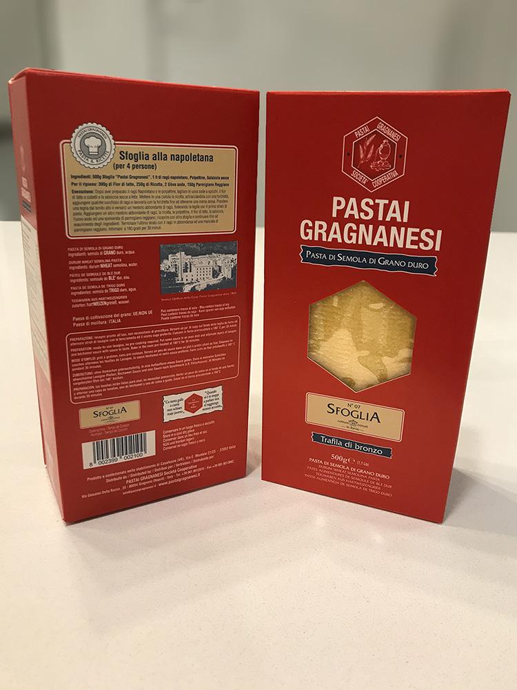 Lasaña Pastai Gragnanesi